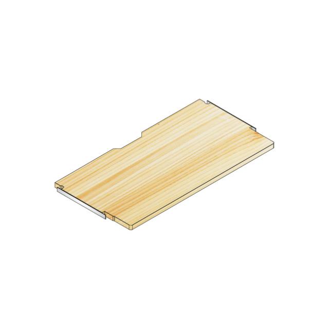 デスク棚板80x40/30