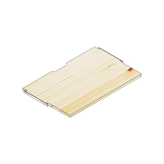 デスク棚板80x50/30