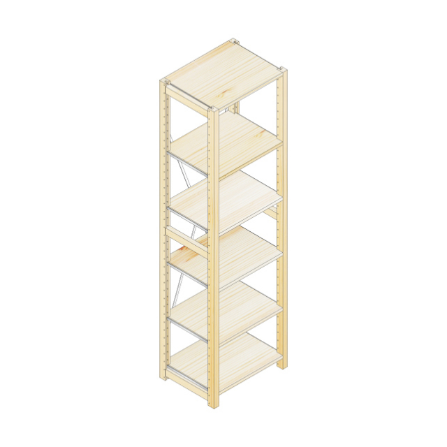 棚ユニット_H188W50D40