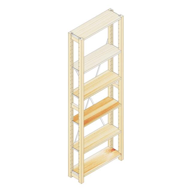 棚ユニットh188w60d20