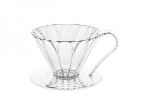 樹脂製 円すいフラワードリッパー 1杯用 メジャースプーン付き