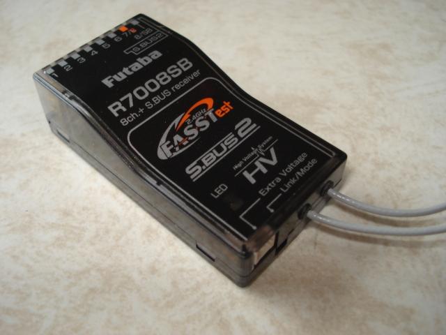 双葉 R7008SB テレメトリー S.BUS HV対応