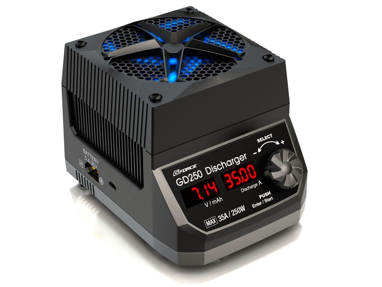 GD250 Discharger G FORCE 最大35A/250Wの大容量放電器