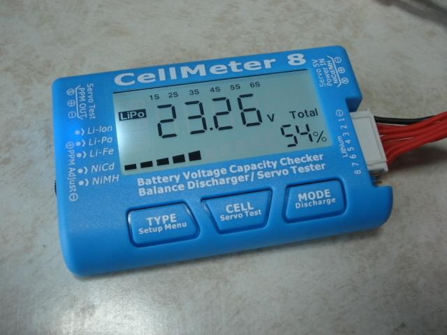 リポ、リフェチェッカー CELLMETER-8