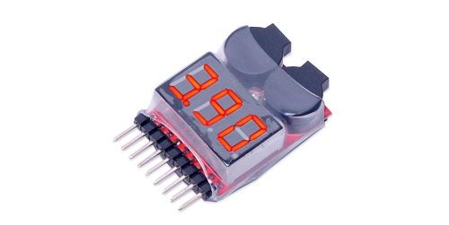 バッテリー低電圧アラーム (1~8S)
