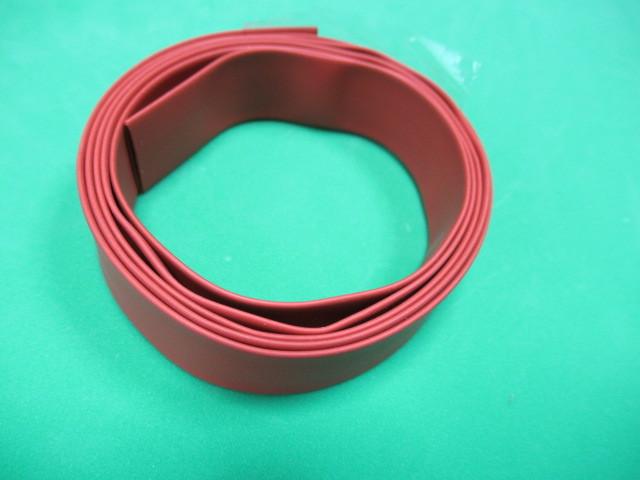 絶縁熱収縮チューブ φ10mm 赤 100Cm