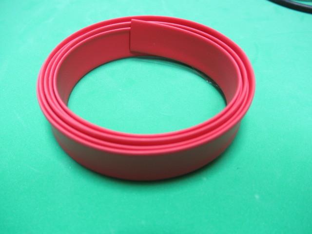 絶縁熱収縮チューブ φ8mm 赤 100Cm