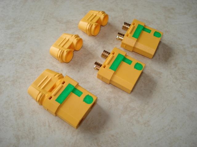XT90-S アンチスパークコネクター メス側3個入り