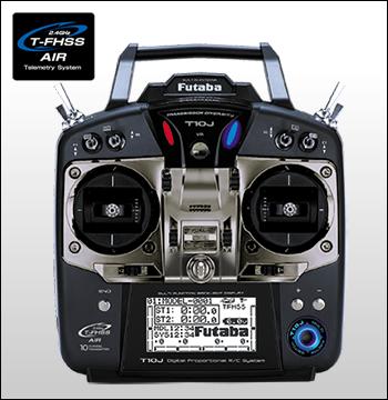 futaba 10ch-2.4GHz T-FHSS T/Rセット