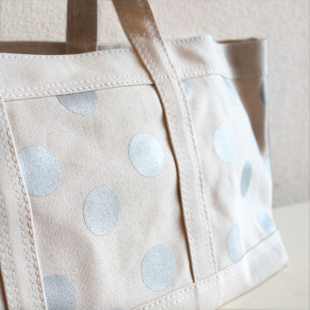 Tote ドット(silver)