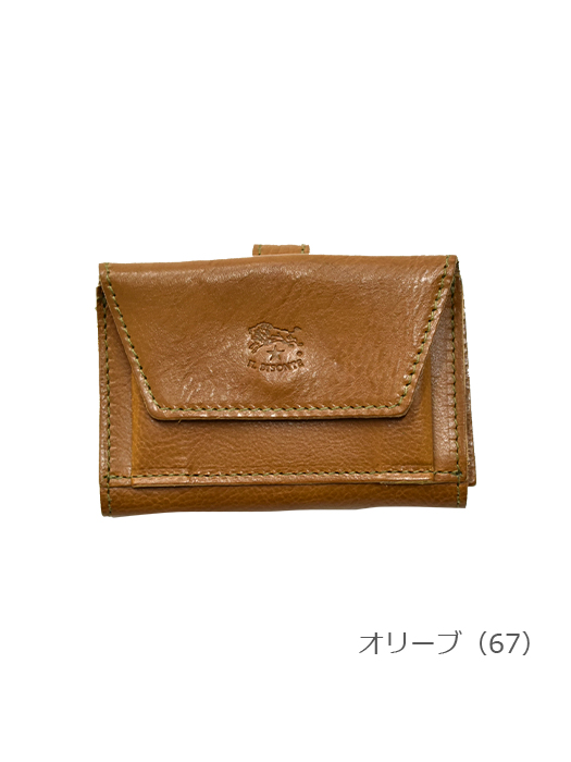 IL BISONTE イルビゾンテ 【財布 5442409640】 オリーブ