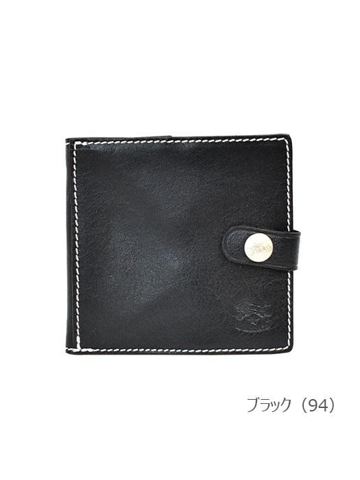IL BISONTE イルビゾンテ 【 5442300940 折財布 】 ブラック