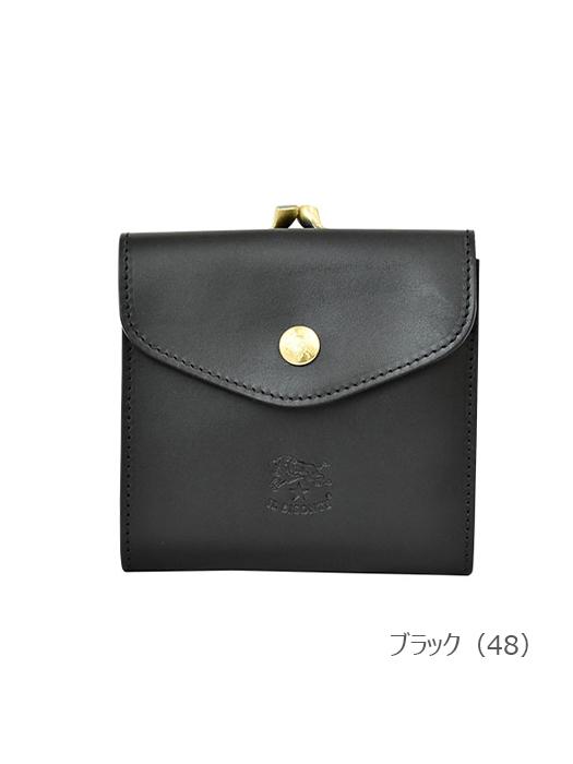 IL BISONTE イルビゾンテ 【 54152311240 折財布 】 ブラック