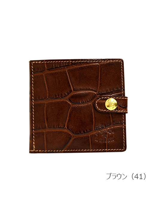 IL BISONTE イルビゾンテ 【 5402305840 折財布 】 ブラウン