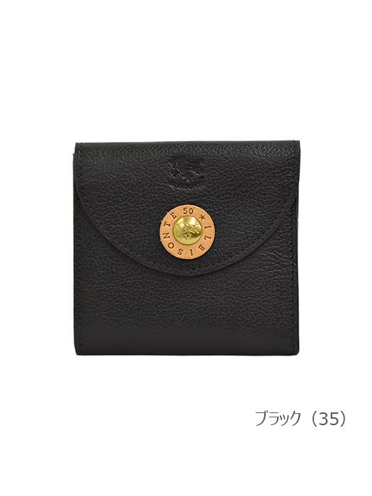 IL BISONTE イルビゾンテ【54202315140 折財布】ブラック