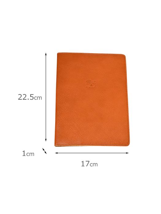 イルビゾンテ【ブックカバー】サイズ。A5サイズ。手帳カバーとしても。