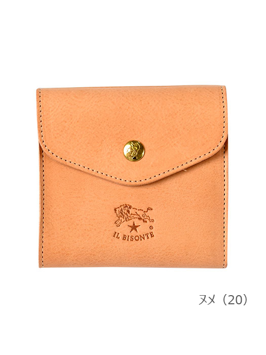 イルビゾンテ IL BISONTE【411304 折財布】ヌメ