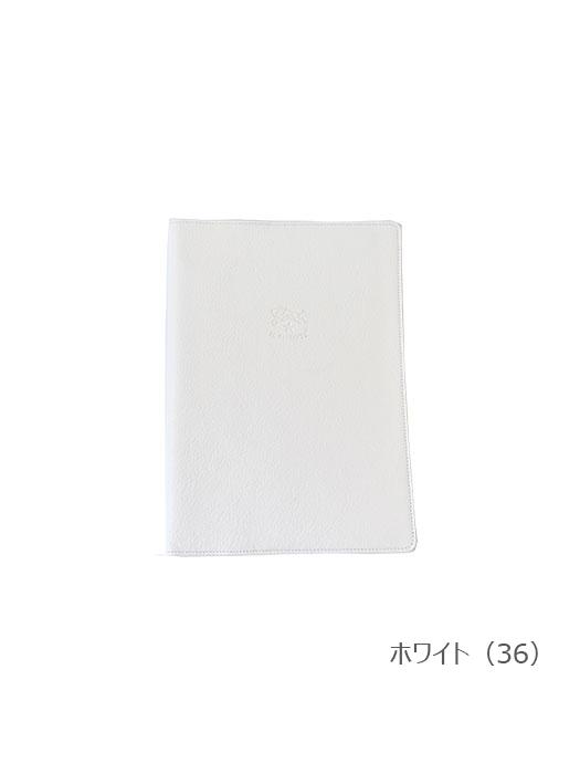 IL BISONTE イルビゾンテ【ノートカバー 5412305298】ホワイト