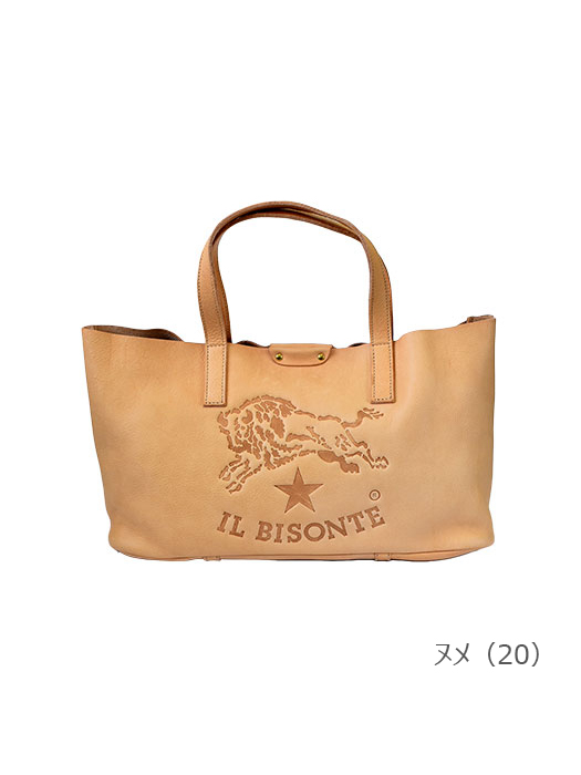 IL BISONTE イルビゾンテ【54172305114 トートバッグ】ヌメ