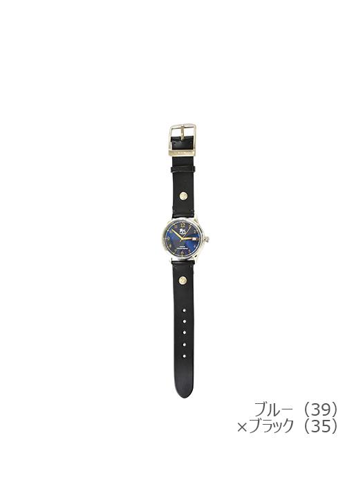 IL BISONTE イルビゾンテ【5422315097 腕時計】ブルー×ブラック