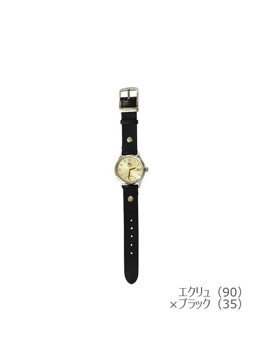IL BISONTE イルビゾンテ【5422315097 腕時計】エクリュ×ブラック