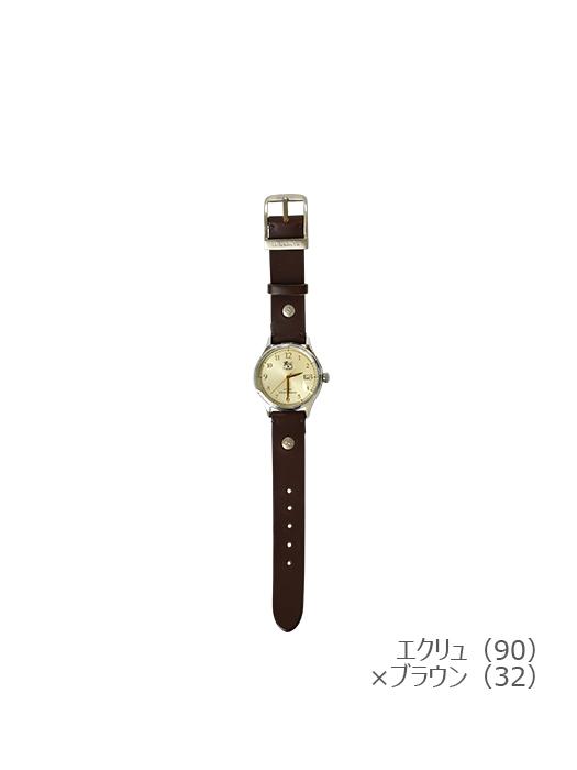 IL BISONTE イルビゾンテ【5422315097 腕時計】エクリュ×ブラウン