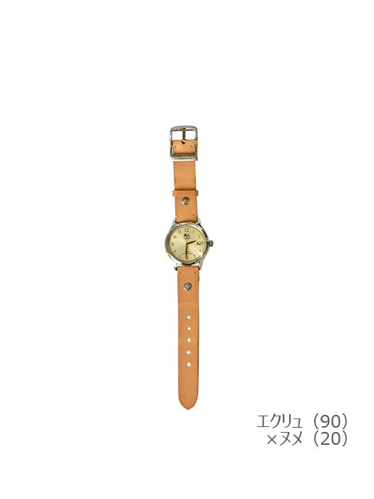 IL BISONTE イルビゾンテ【5422315097 腕時計】エクリュ×ヌメ