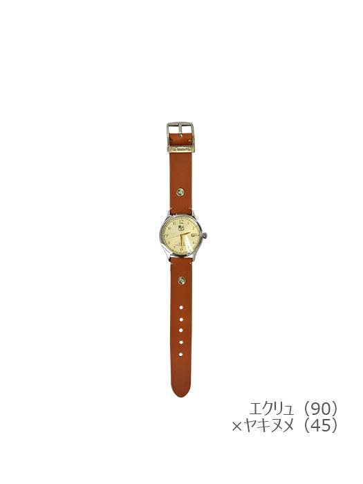 IL BISONTE イルビゾンテ【5422315097 腕時計】エクリュ×ヤキヌメ