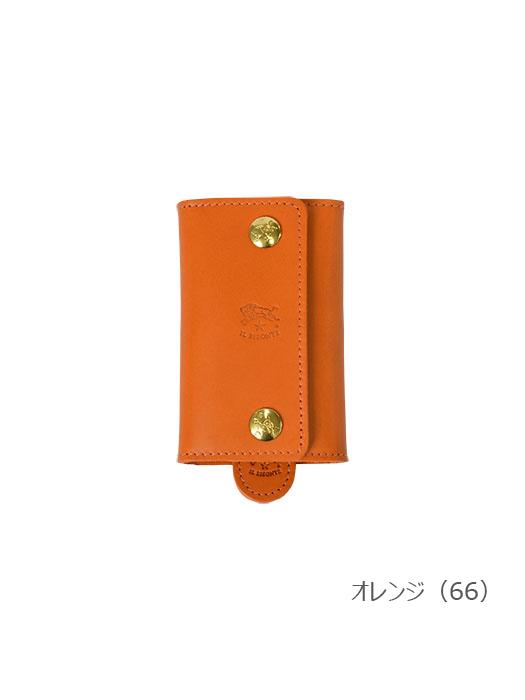 IL BISONTE イルビゾンテ【54152309290 キーケース】オレンジ