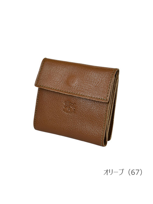 IL BISONTE イルビゾンテ 【411465 折財布】 オリーブ