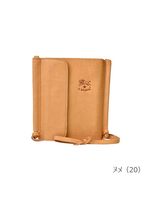 IL BISONTE イルビゾンテ【54172313291 パスポートケース】ヌメ