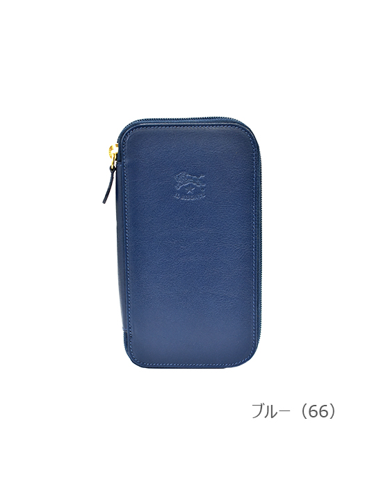 IL BISONTE イルビゾンテ【54182305140 長財布】ブルー