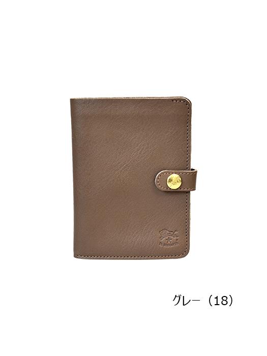 IL BISONTE イルビゾンテ【411155 折財布】グレー