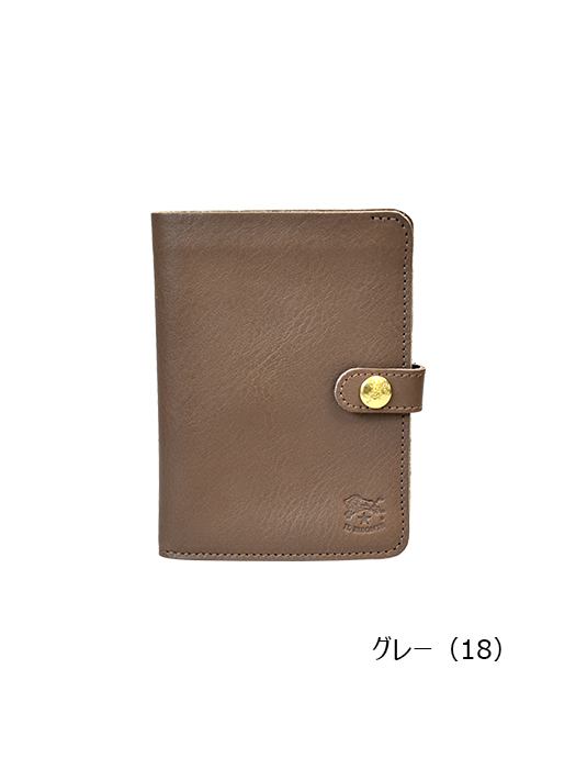 IL BISONTE イルビゾンテ【411155 折財布】グレー