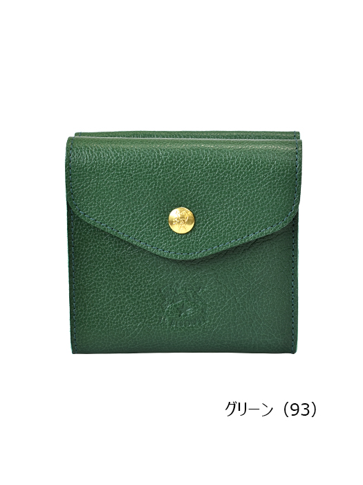 IL BISONTE イルビゾンテ【411304 折財布】グリーン