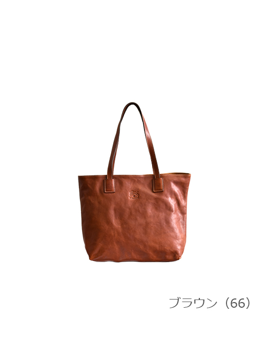 IL BISONTE イルビゾンテ 【トートバッグ 5452400414】 ブラウン