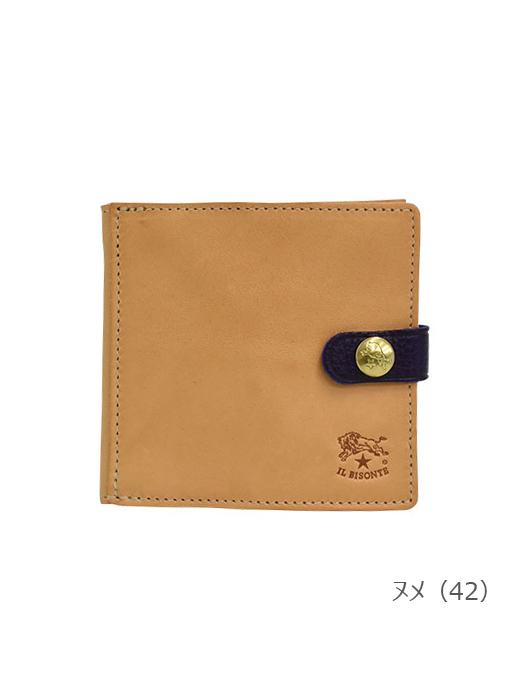 IL BISONTE イルビゾンテ 【 54182311540 折財布 】 ヌメ