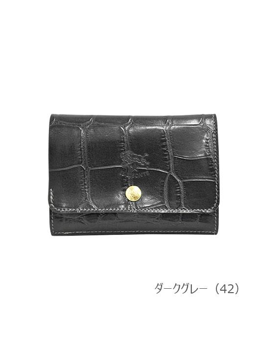 IL BISONTE イルビゾンテ 【 5402305940 折財布 】 ブラック