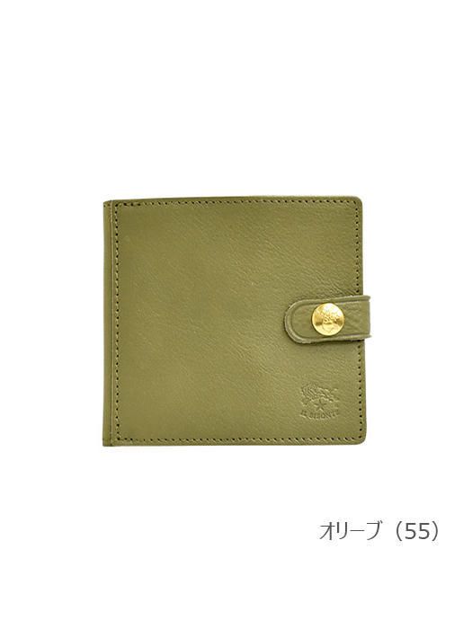 IL BISONTE イルビゾンテ 【 54192305640 折財布 】 オリーブ