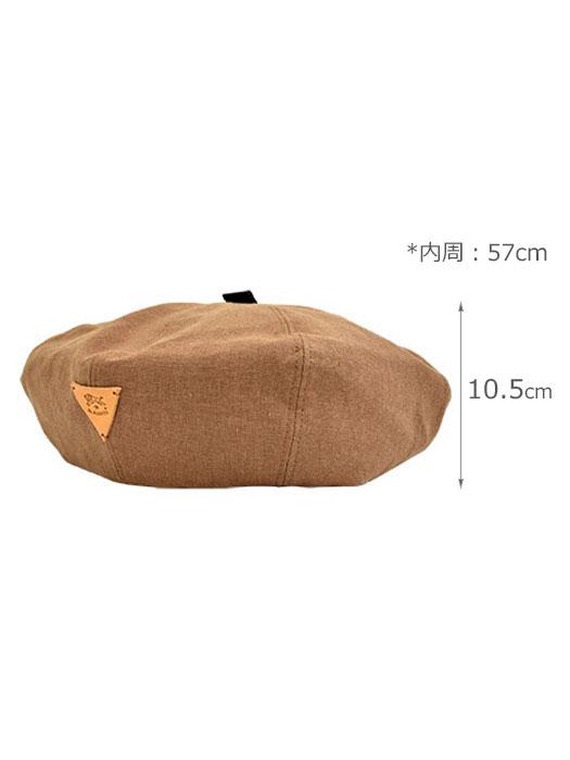 IL BISONTE イルビゾンテ 【 54192304283 ベレー帽 】 サイズ