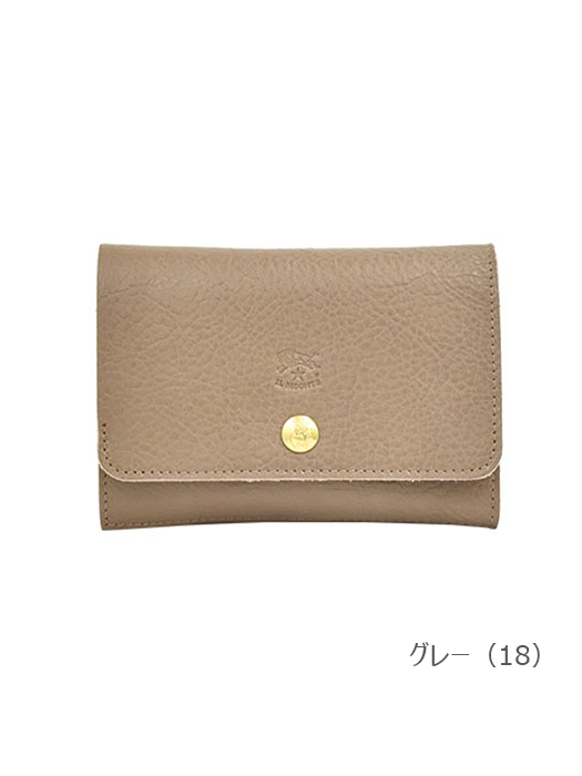 IL BISONTE イルビゾンテ 【 5432300240 折財布 】 グレー
