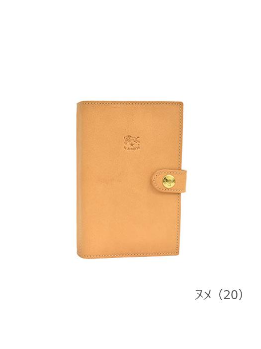 IL BISONTE イルビゾンテ【411383 手帳】 ヌメ