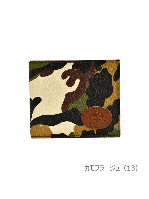 IL BISONTE イルビゾンテ 【5402305072 折財布 】 カモフラージュ