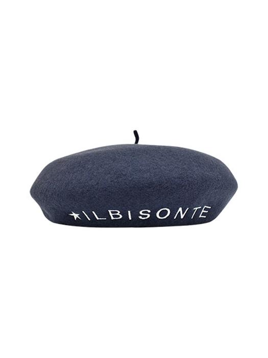 IL BISONTE イルビゾンテ【54192309283 ベレー帽】 背面