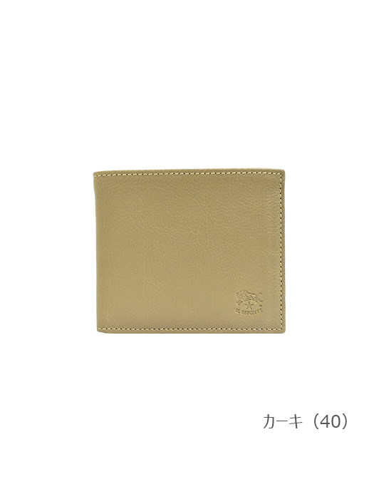 IL BISONTE イルビゾンテ【折財布 54202305240】 カーキ