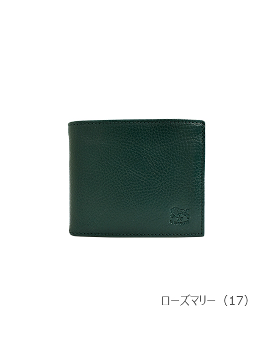 IL BISONTE イルビゾンテ【折財布 54202305240】 ローズマリー