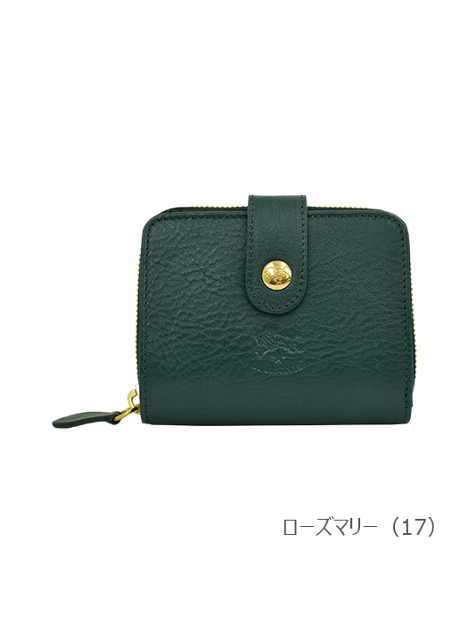 IL BISONTE イルビゾンテ【折財布 54202305140】ローズマリー