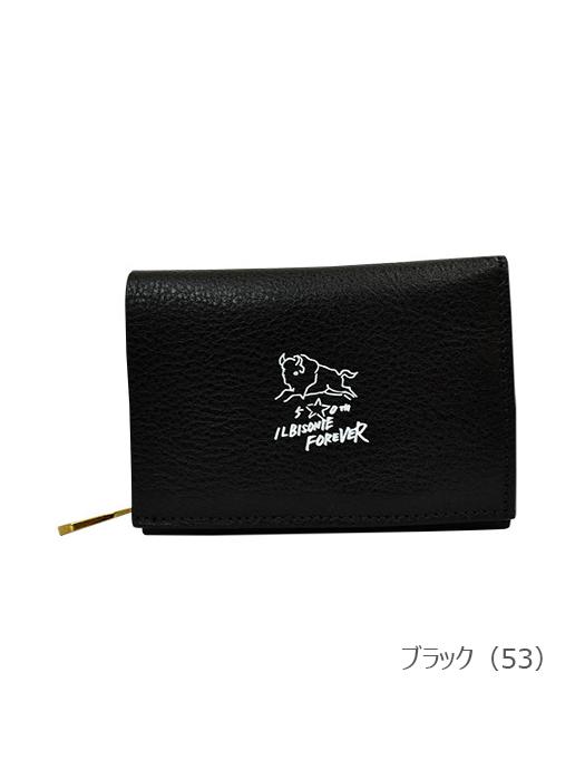 IL BISONTE イルビゾンテ【54202307040 折財布】 ブラック