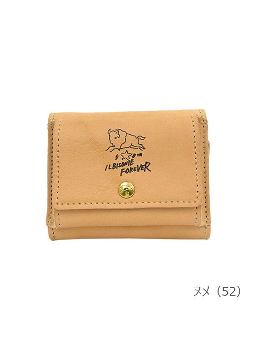 IL BISONTE イルビゾンテ【54202307340 折財布】 ヌメ