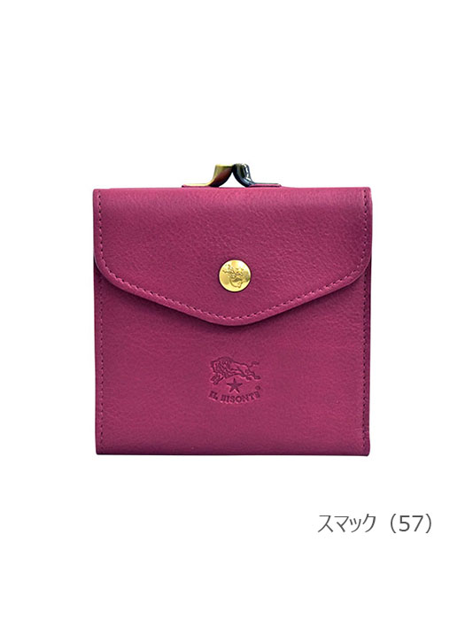 IL BISONTE イルビゾンテ【54202309140 折財布】スマック